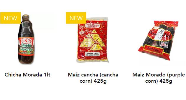 productos latinos en toronto